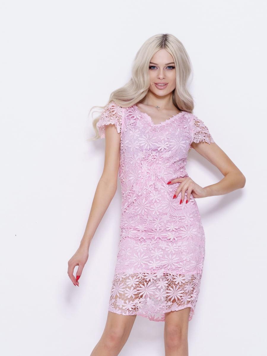 Платье розовое | 5029538