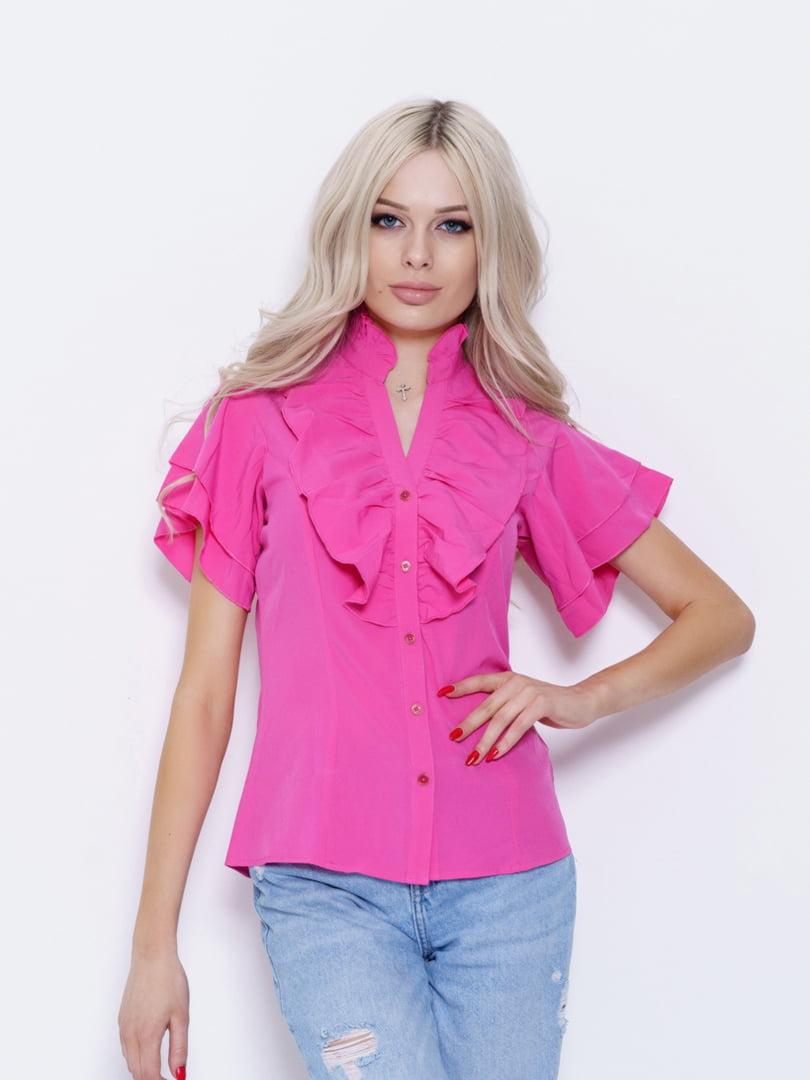 Блуза малиновая   5029564