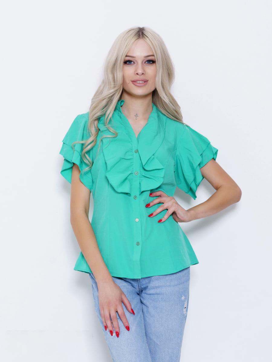 Блуза зеленая | 5029565