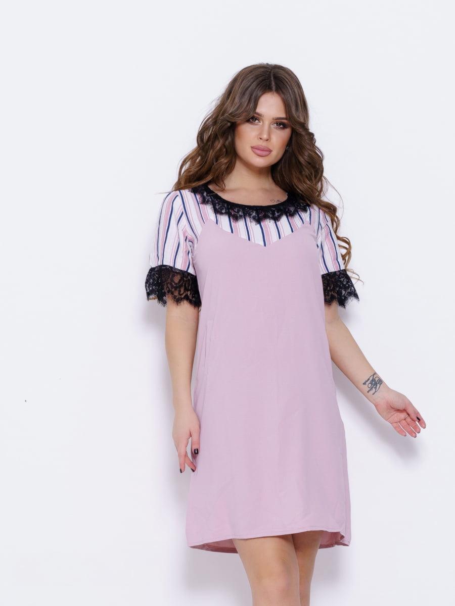 Платье розовое | 5029626