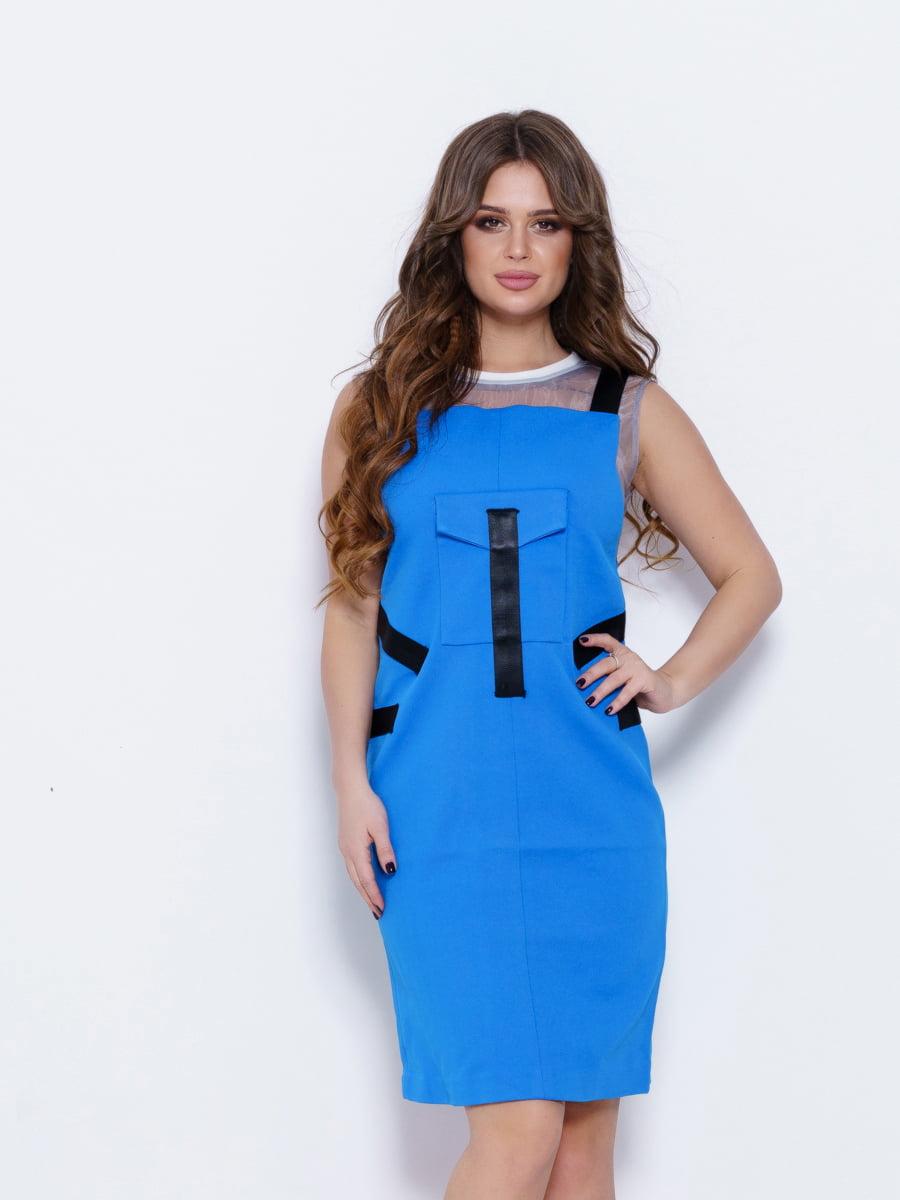 Платье синее | 5029662