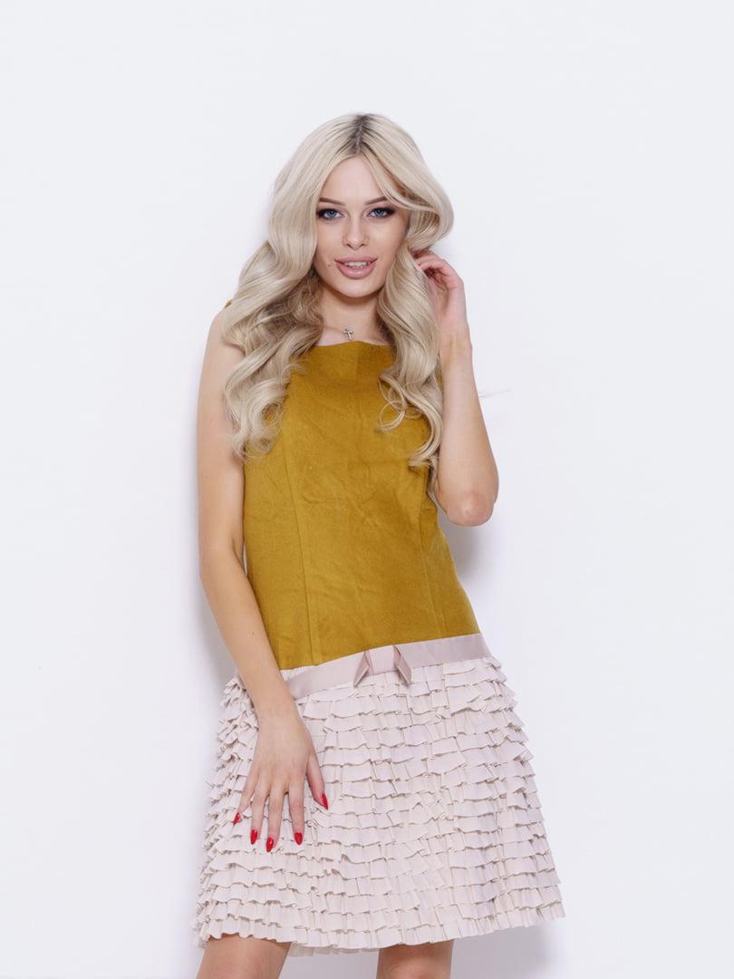 Сукня двоколірна | 5029674