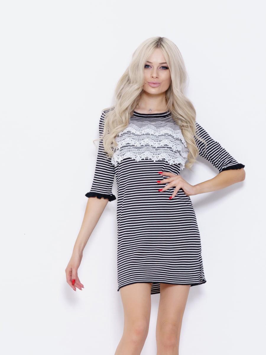 Платье в полоску | 5029706