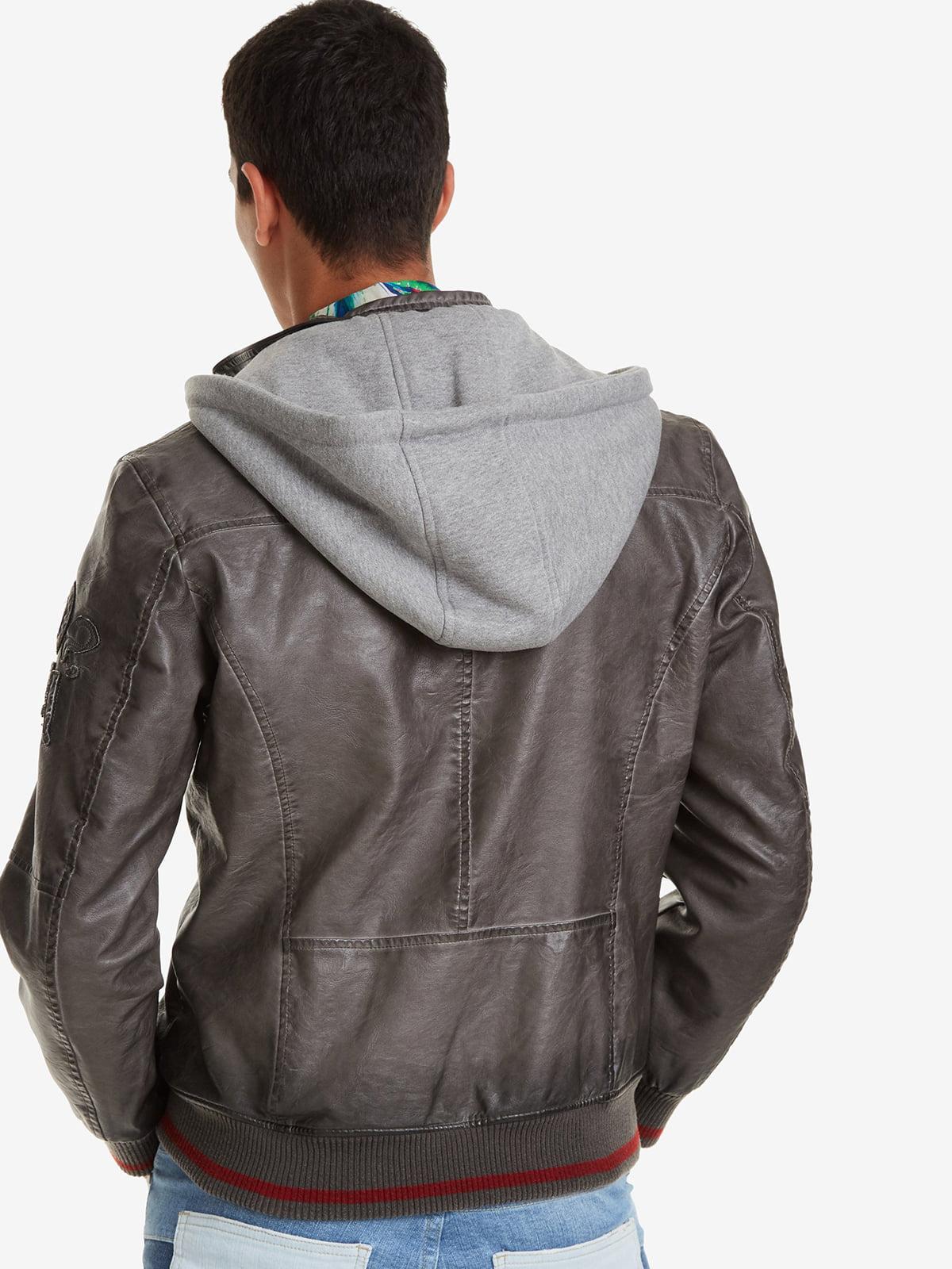Куртка серая | 4983056 | фото 2