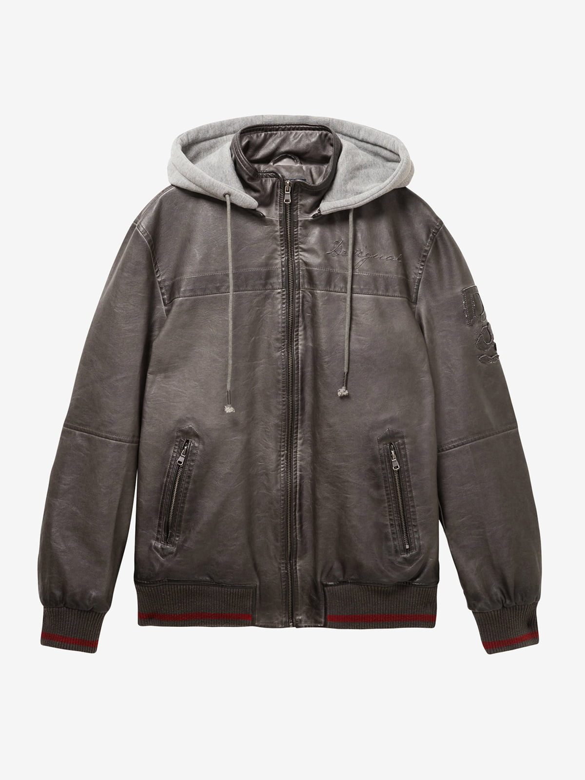 Куртка серая | 4983056 | фото 3