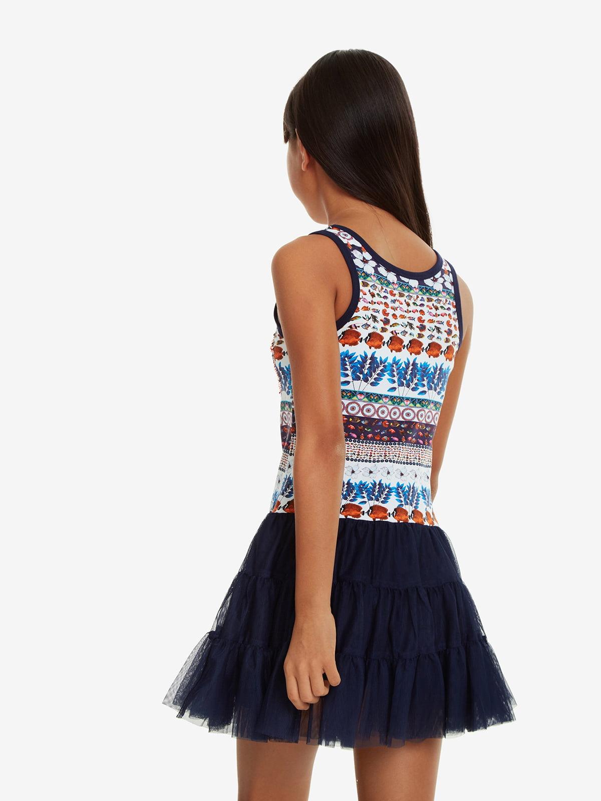 Платье синее | 5030337