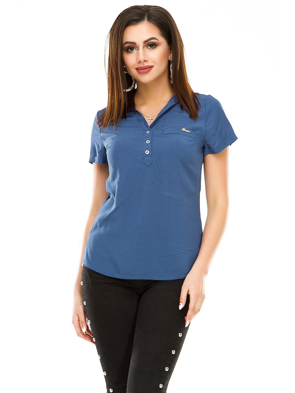 Сорочка джинсового кольору | 4979882