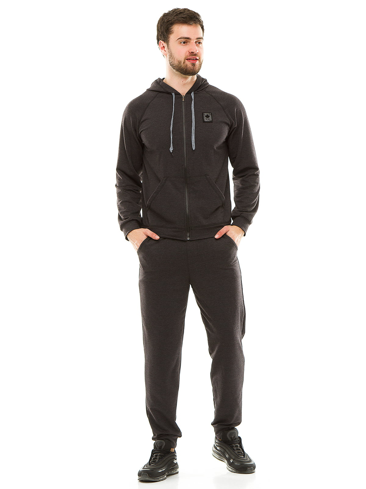 Костюм спортивный: толстовка и брюки | 4986350