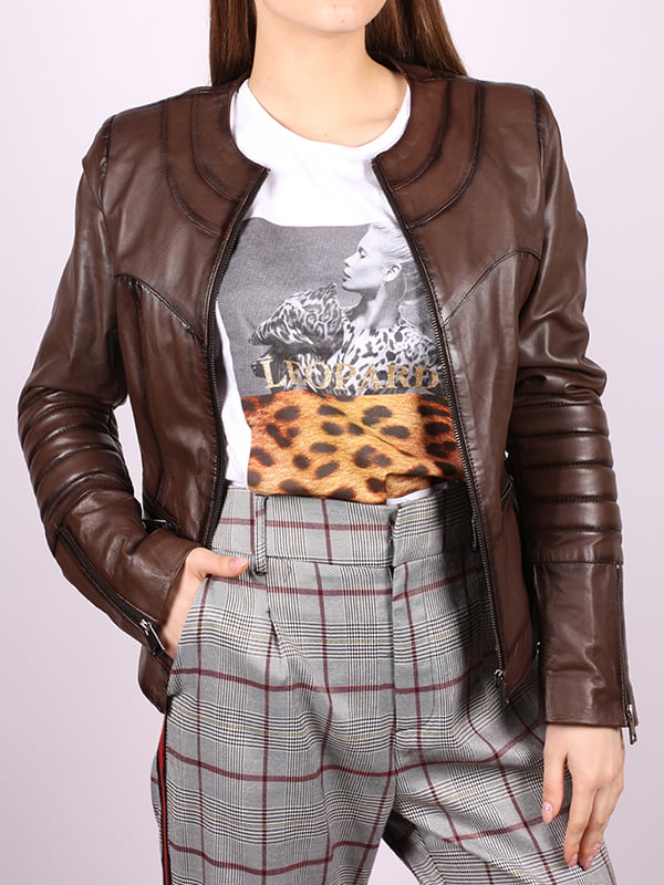 Куртка темно-коричневая | 5034387