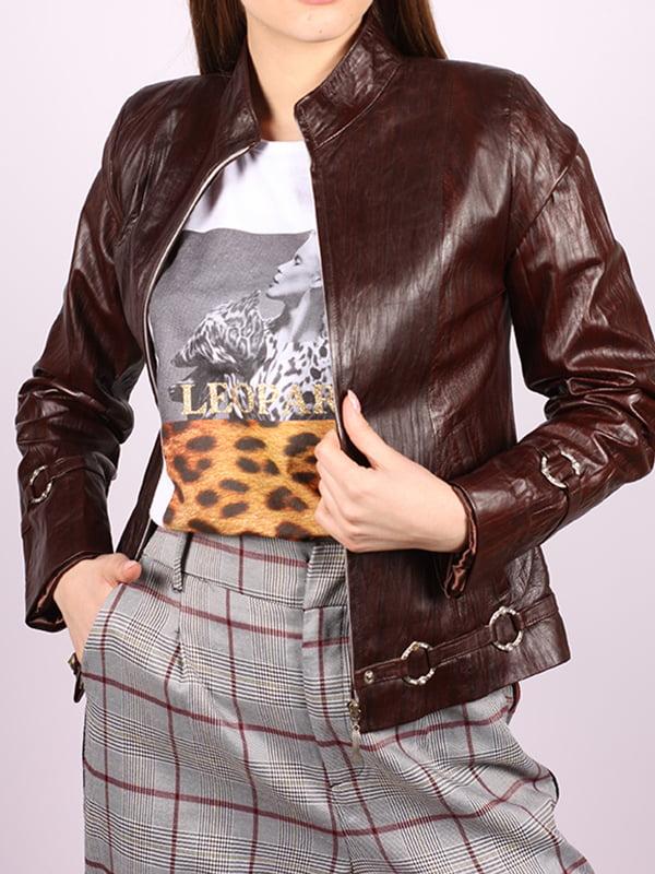 Куртка темно-коричневая   5034400