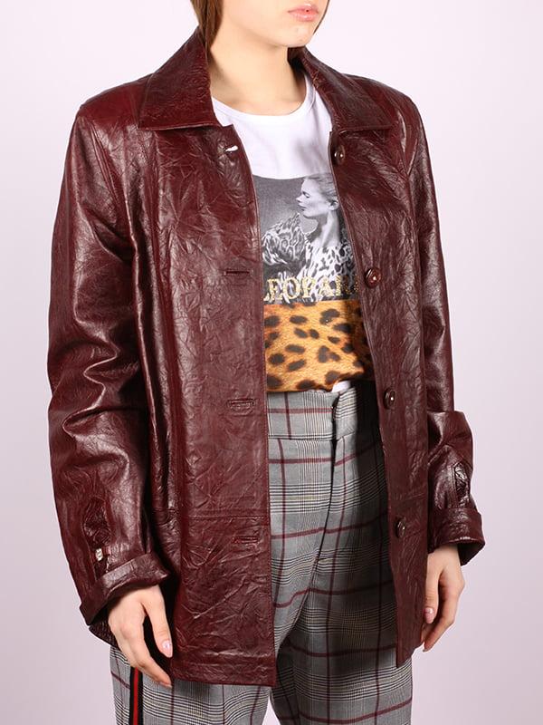 Куртка цвета марсала | 5034402