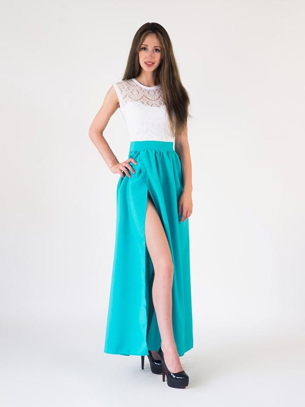 Платье двухцветное | 5035098