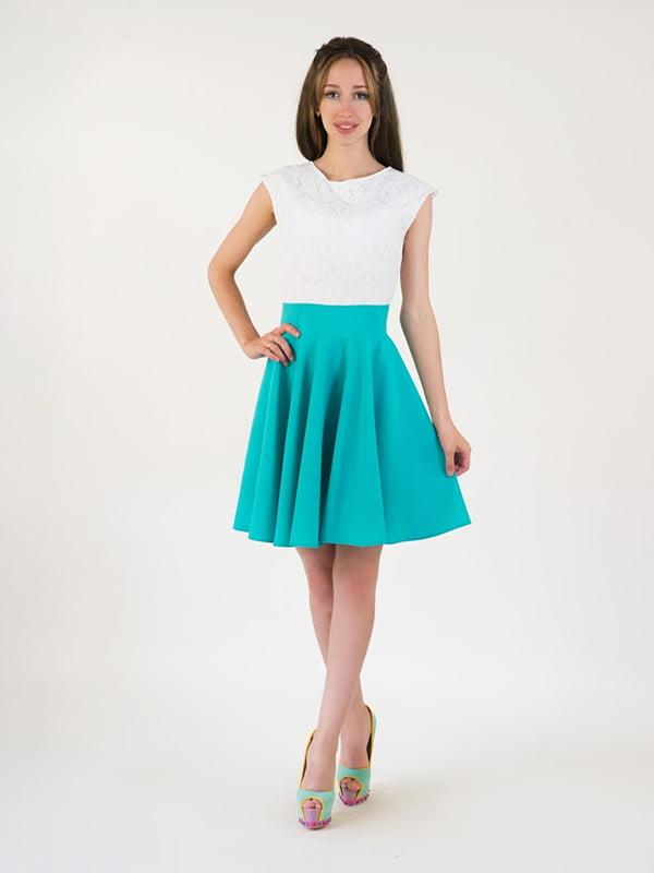 Платье двухцветное | 5035105