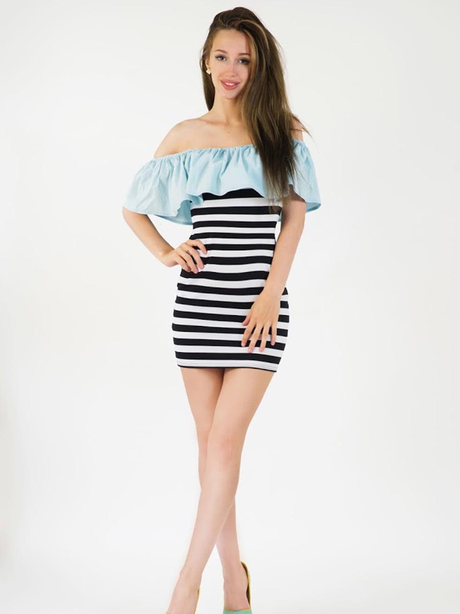Платье голубое | 5035118