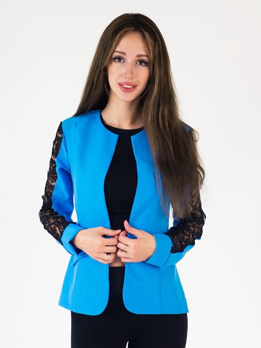 Жакет голубой | 5035136