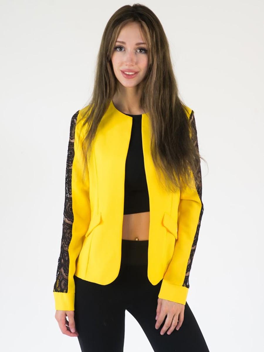 Жакет желтый   5035142