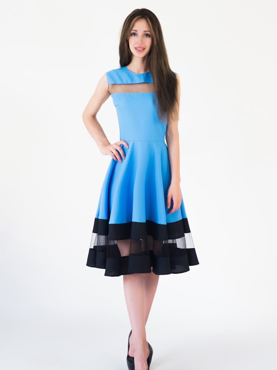 Платье голубое | 5035158