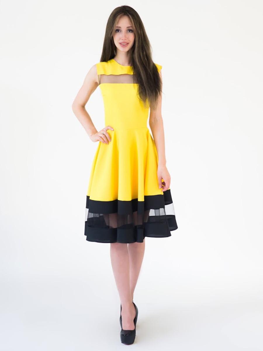 Платье двухцветное | 5035163