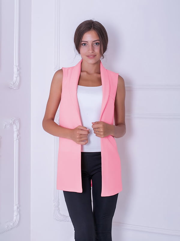 Жилет розовый   5035170