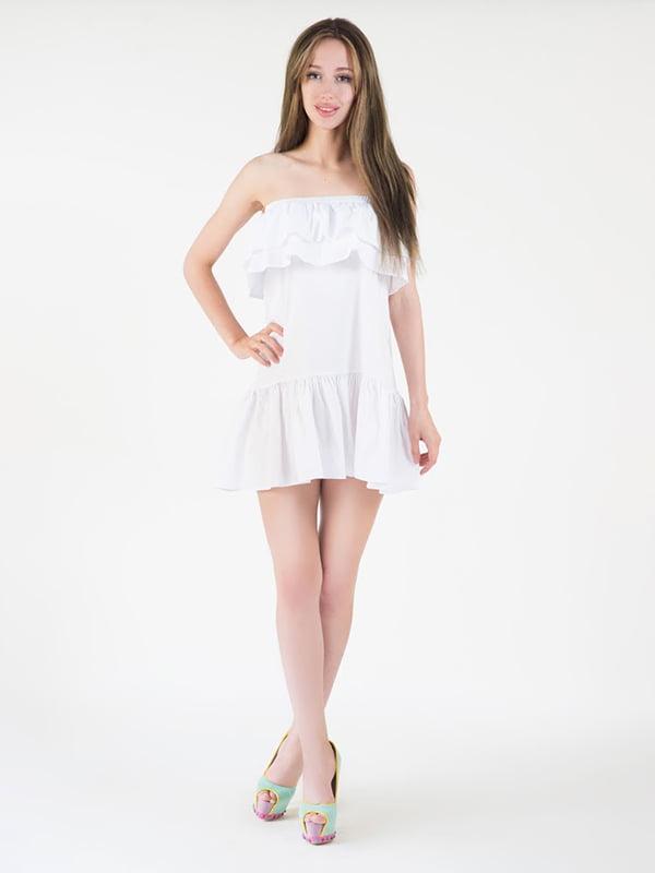 Платье белое   5035186