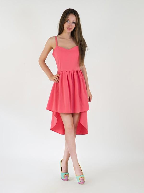 Платье коралловое   5035190