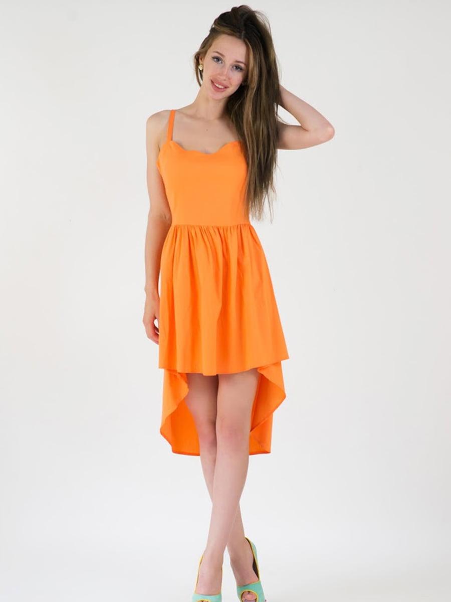 Платье оранжевое | 5035191