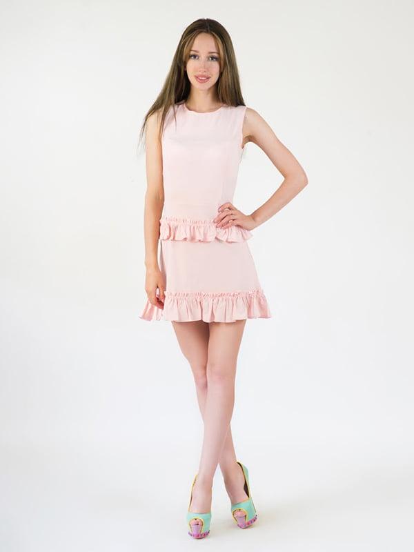 Платье цвета пудры | 5035198