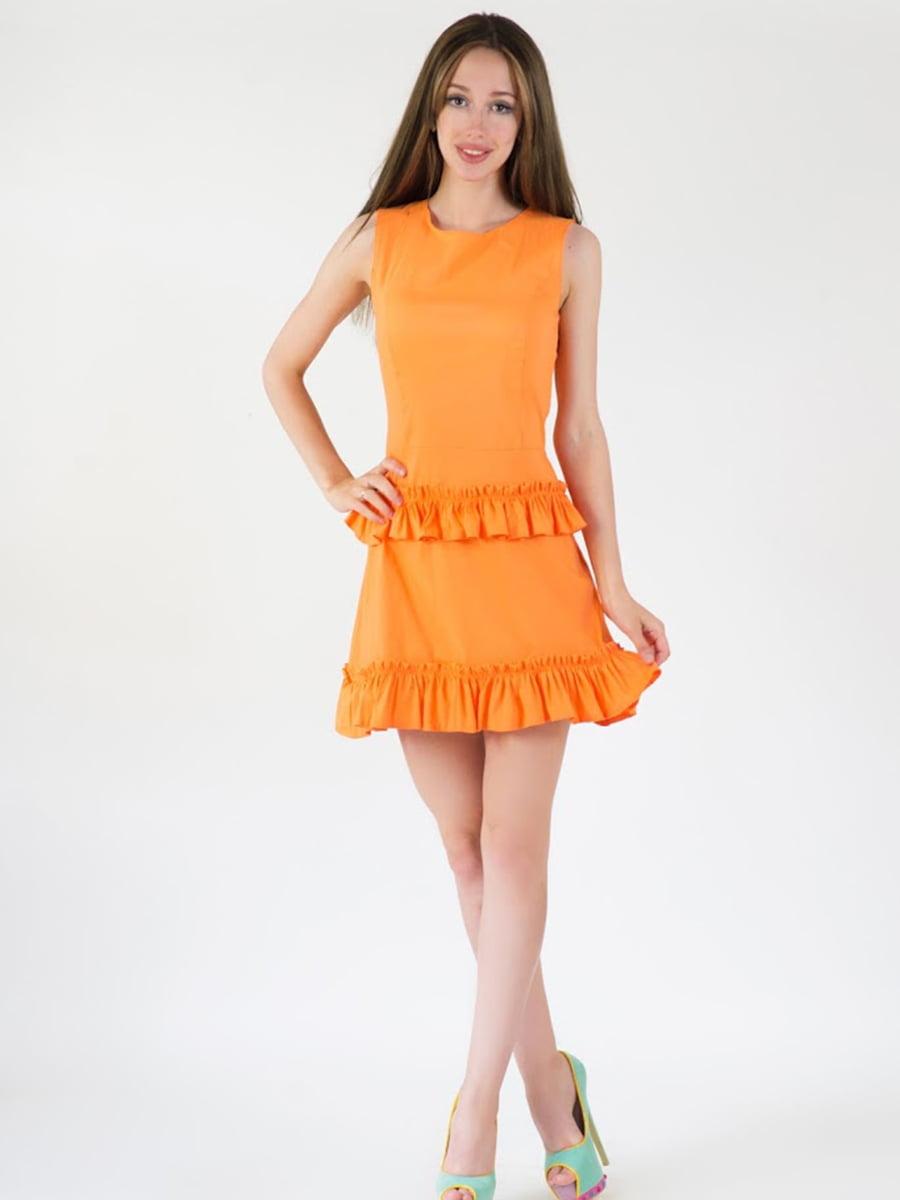 Платье оранжевое | 5035199