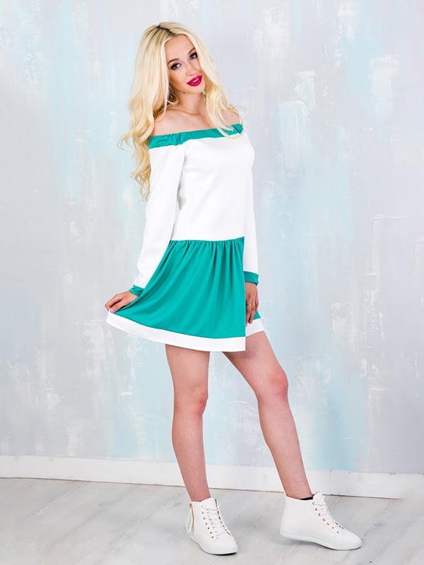 Платье двухцветное | 5035252