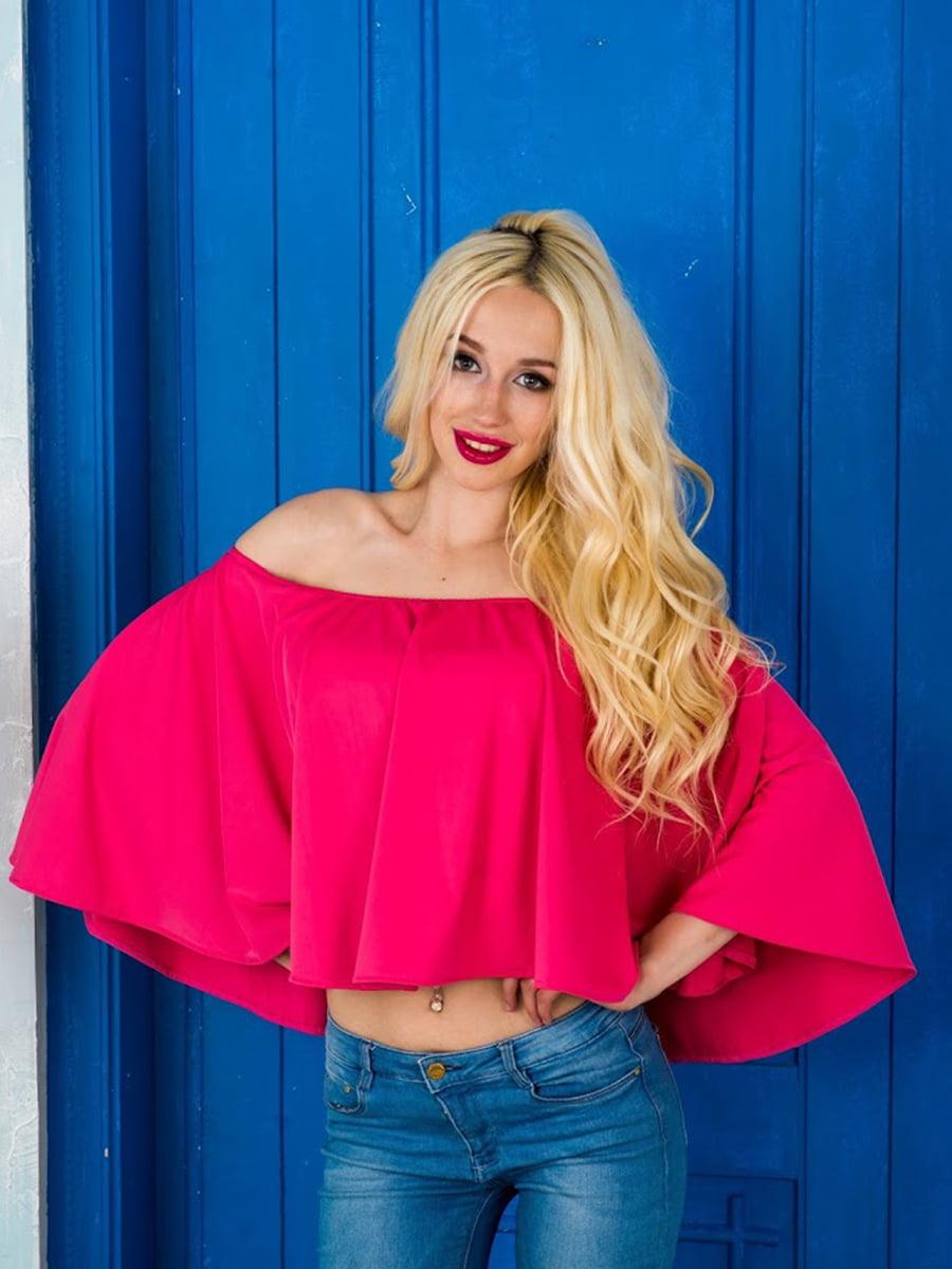 Блуза розовая | 5035259