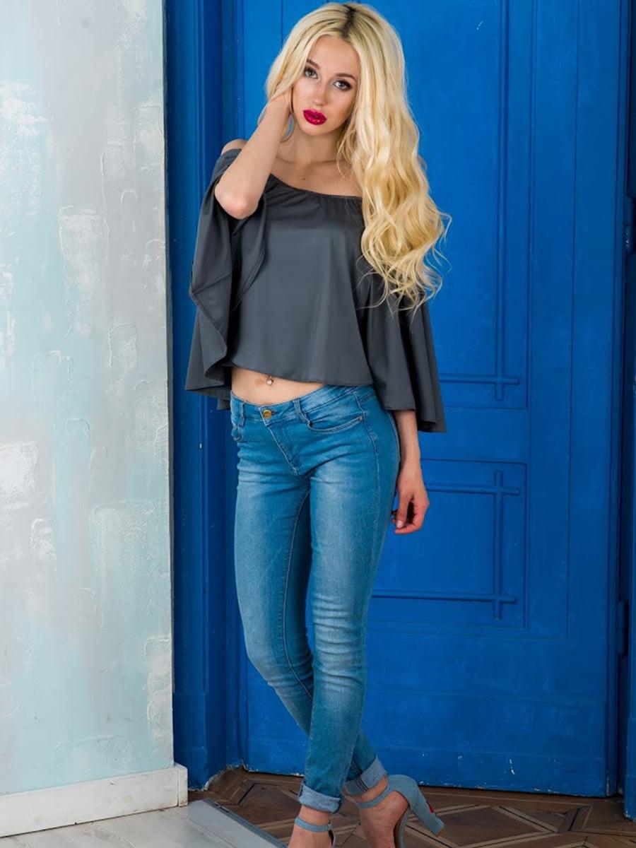 Блуза серая | 5035263