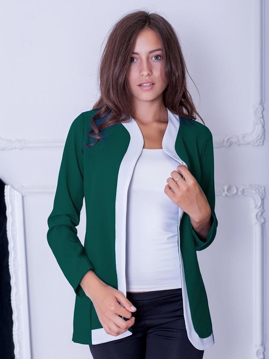 Жакет зеленый | 5035274