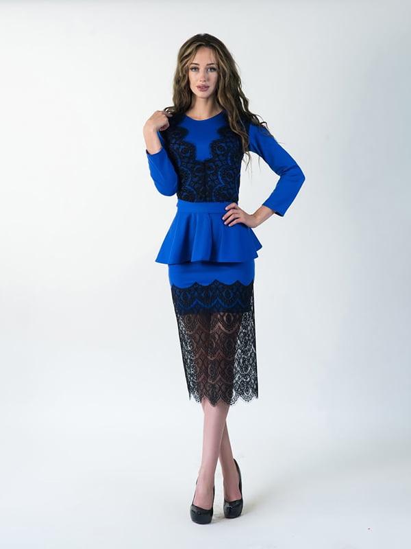 Платье синее | 5035295