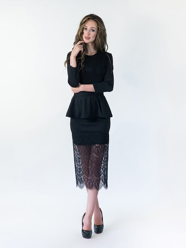 Платье черное | 5035299
