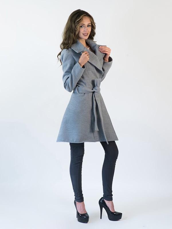 Пальто серое   5035315