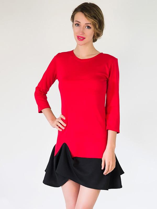 Платье красное   5035343