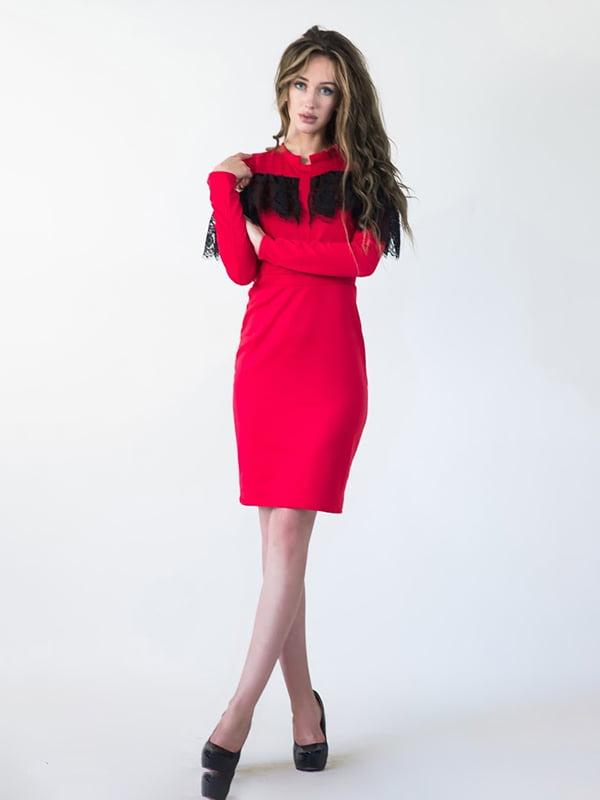 Платье красное | 5035351