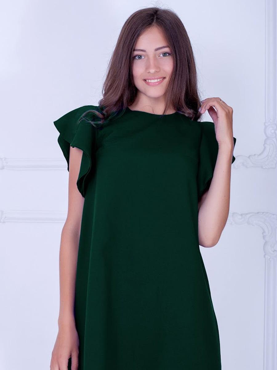 Платье зеленое | 5035381