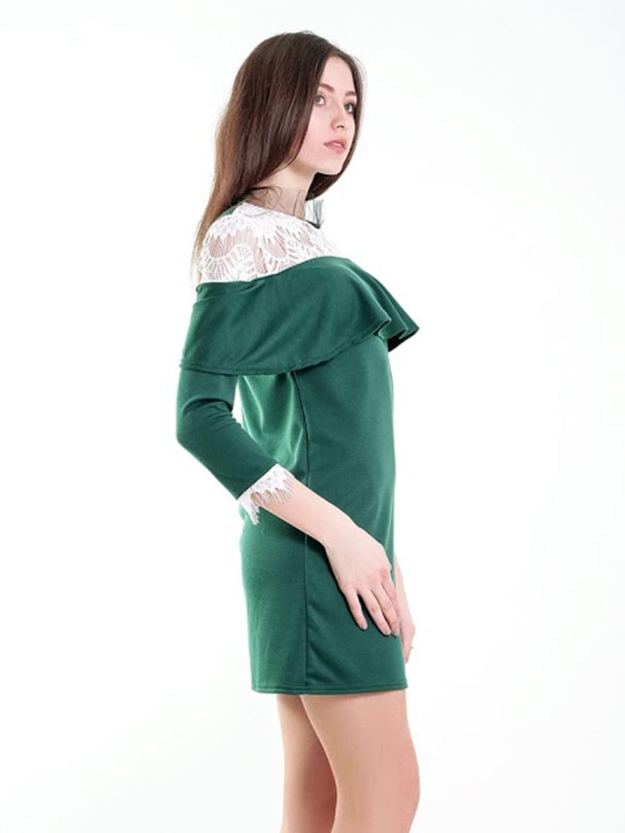 Платье зеленое | 5035416