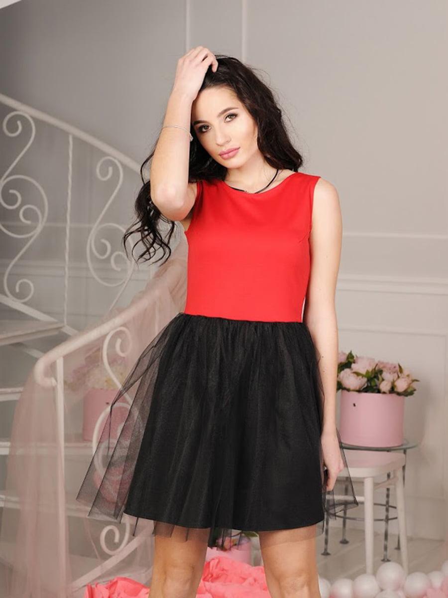 Платье красное   5035425