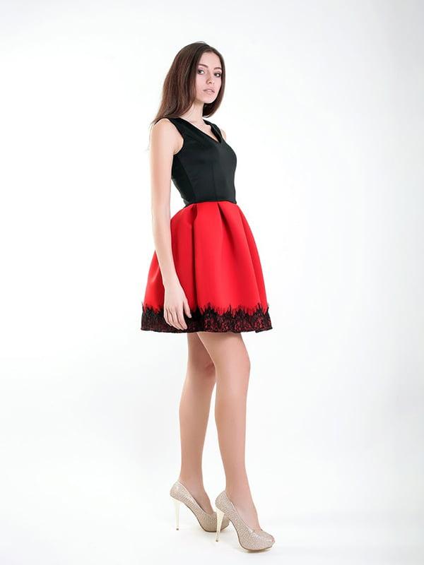 Платье двухцветное   5035431