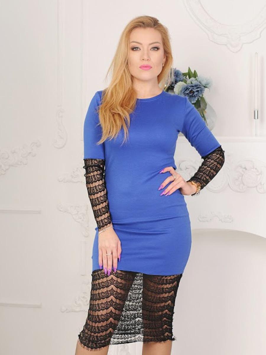 Платье синее | 5035454