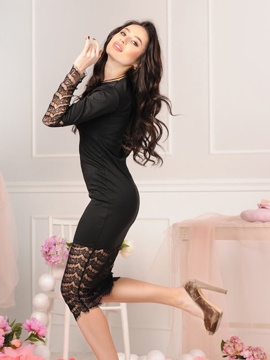 Платье черное | 5035458