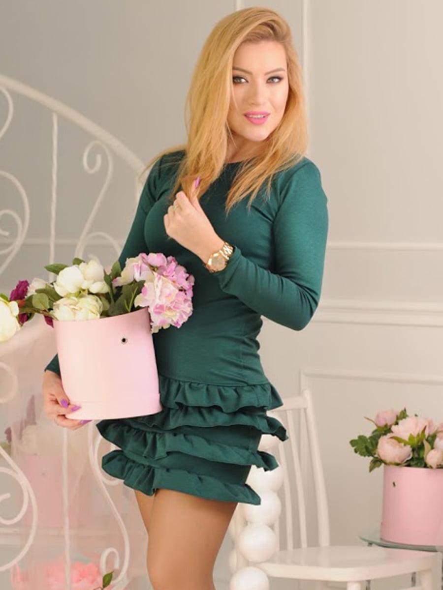 Платье зеленое | 5035459