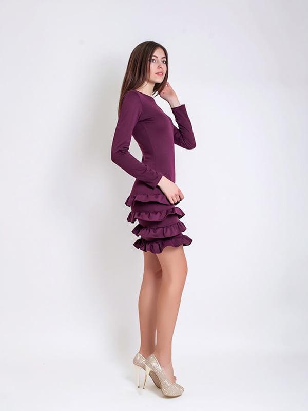Платье бордовое   5035461