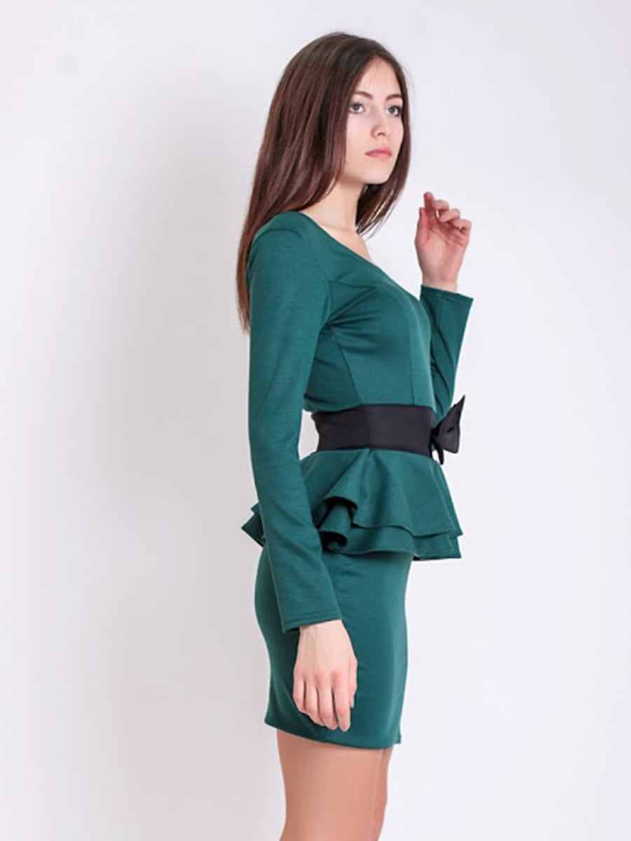 Платье зеленое | 5035487