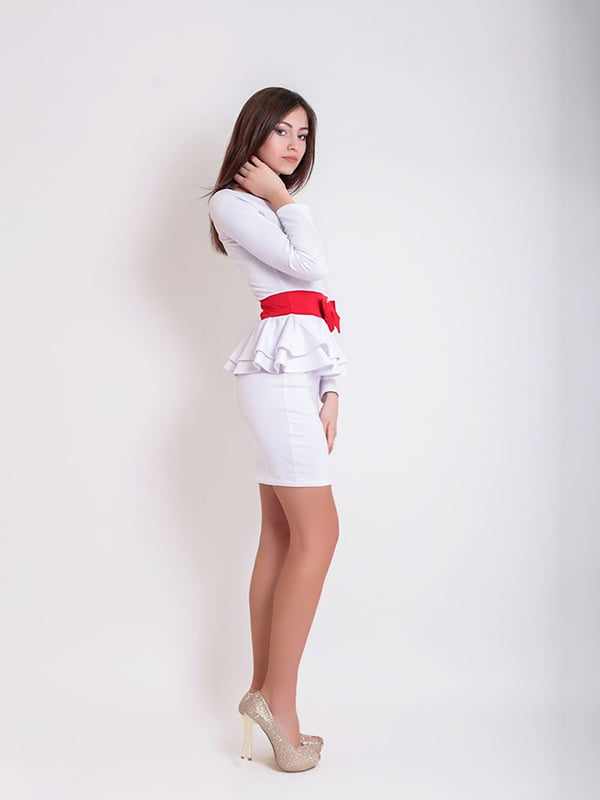 Платье белое   5035493