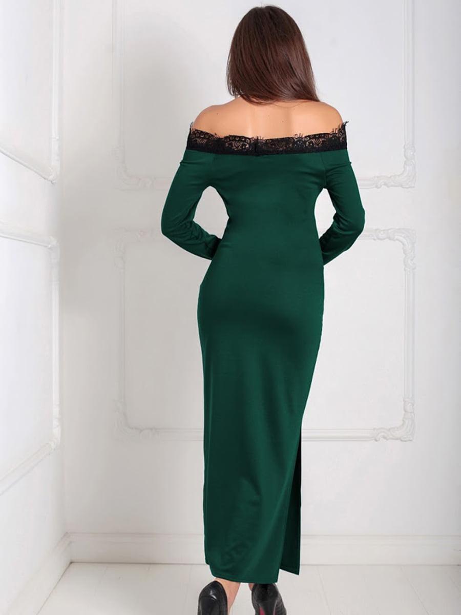 Платье зеленое | 5035495