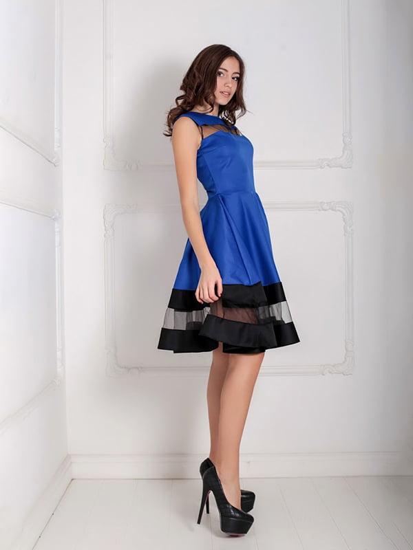 Платье синее   5035499