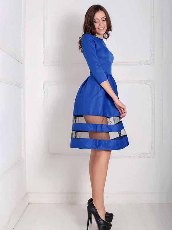 Платье синее   5035500